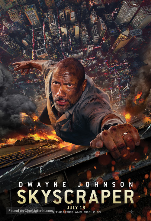 Skyscraper - Movie Poster