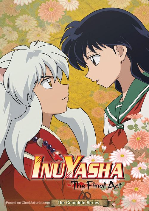 """""""InuYasha: Kanketsu-hen"""" - DVD cover"""