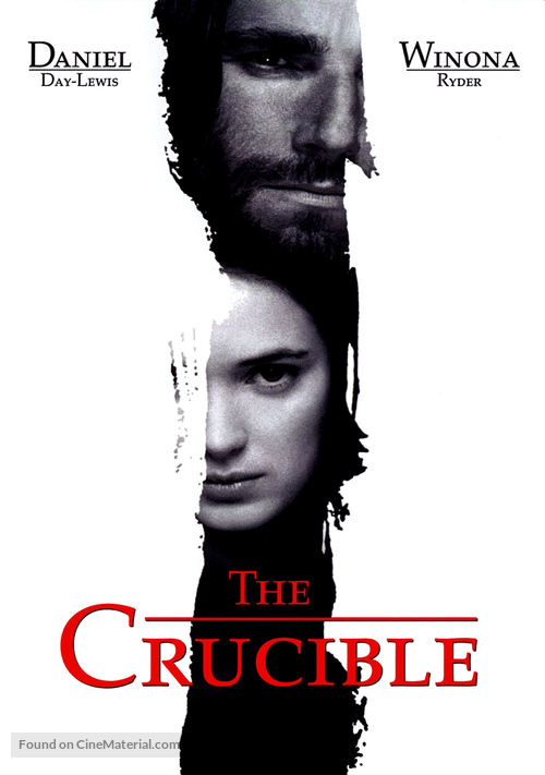 The Crucible - DVD movie cover