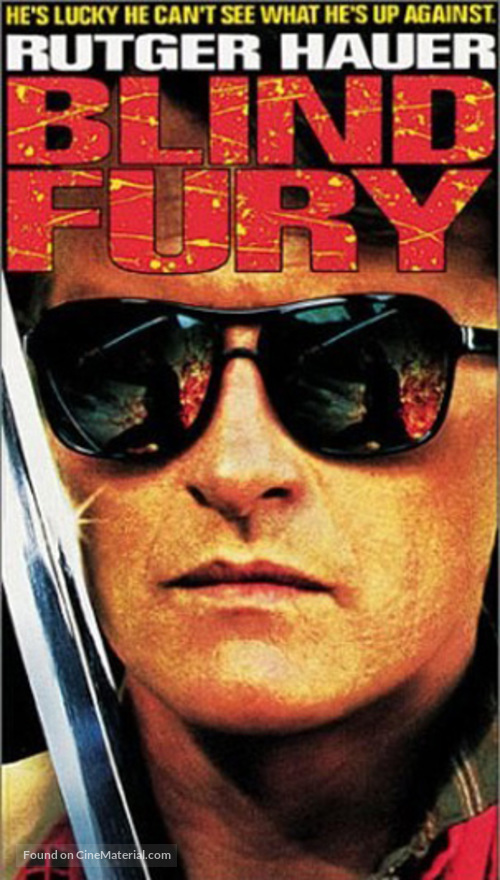Blind Fury - VHS cover