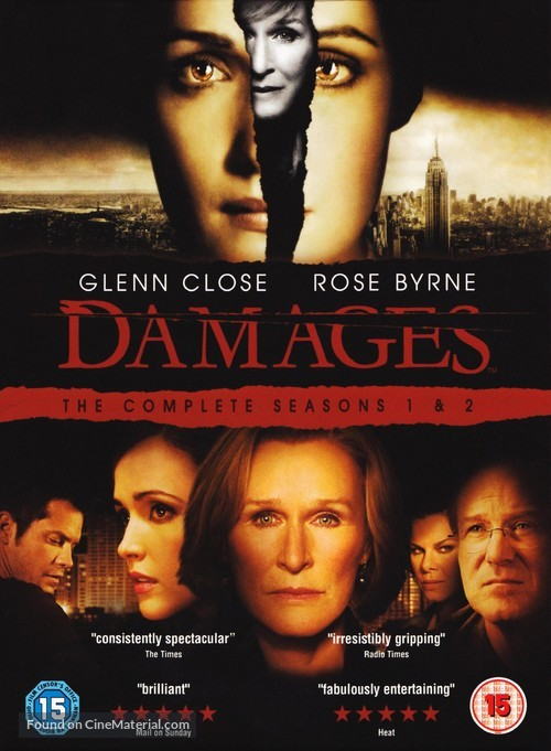 """Damages"" - British Movie Cover"