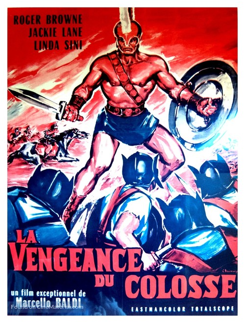 Marte, dio della guerra - French Movie Poster