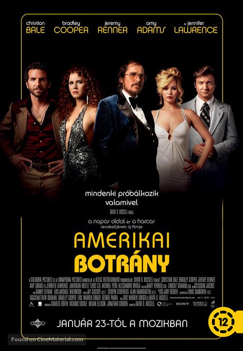 American Hustle - Hungarian Movie Poster