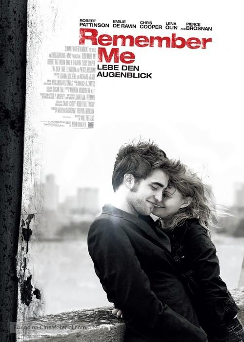 Remember Me - German Movie Poster