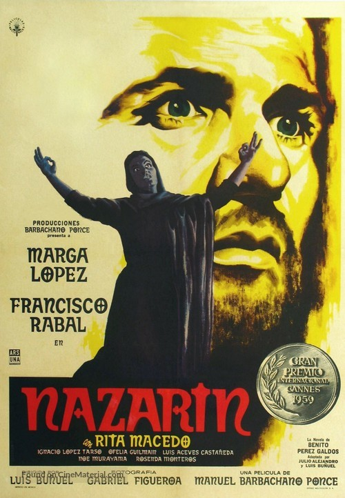 Nazarín - Mexican Movie Poster