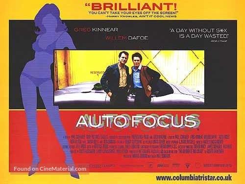 Auto Focus - British Movie Poster