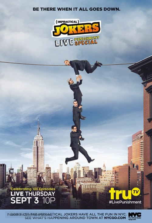 """Impractical Jokers"" - Movie Poster"