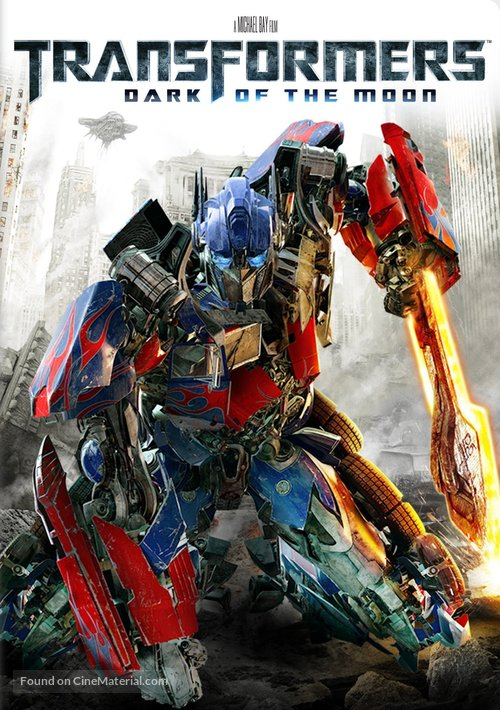 Transformers: Dark of the Moon - DVD cover