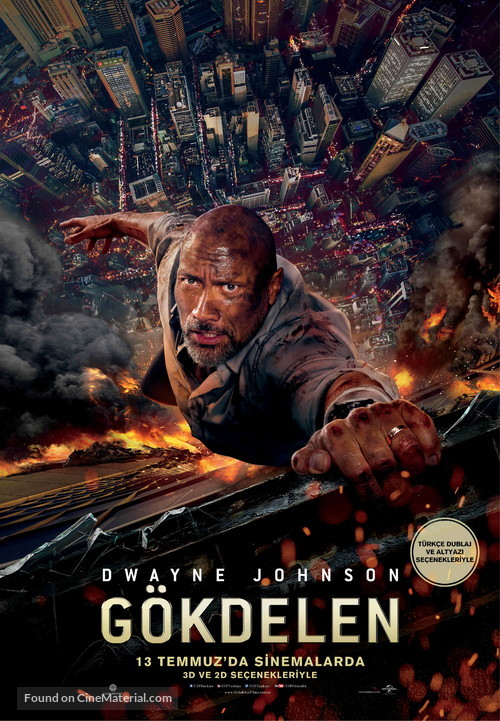Skyscraper - Turkish Movie Poster