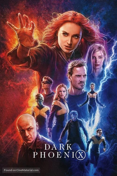 X-Men: Dark Phoenix - Video on demand movie cover