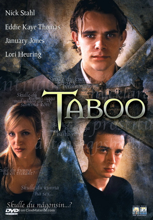 Taboo - Swedish Movie Cover