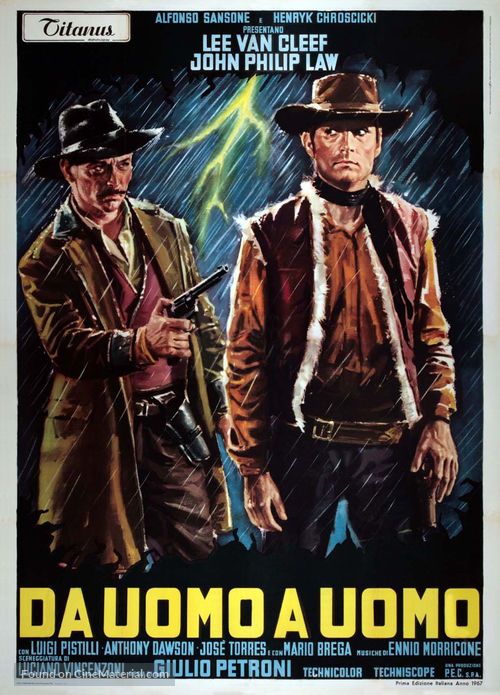 Da uomo a uomo - Italian Movie Poster