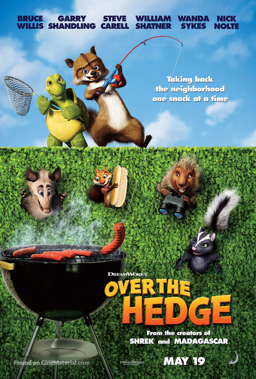 Over The Hedge - Movie Poster