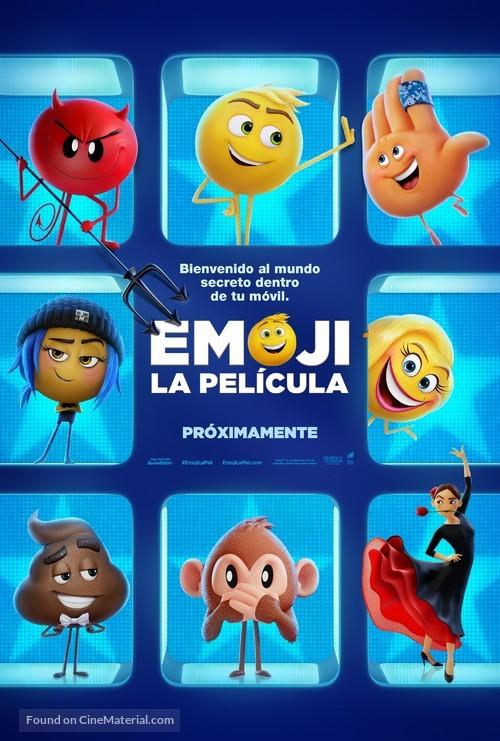 The Emoji Movie - Spanish Movie Poster