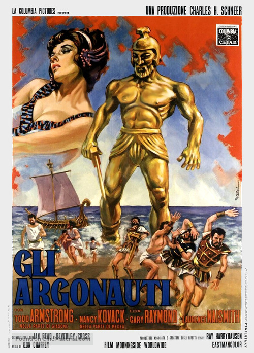 Jason and the Argonauts - Italian Movie Poster