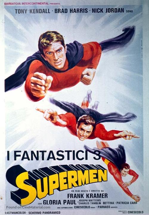 I fantastici tre supermen - Italian Movie Poster