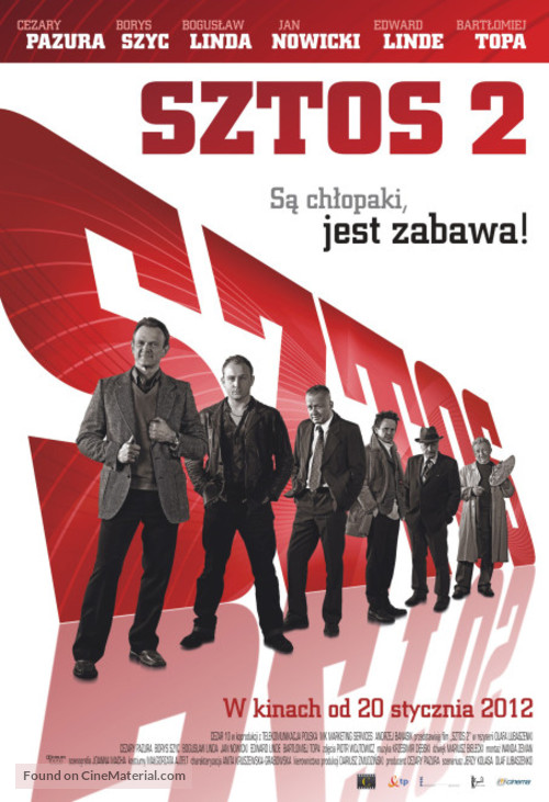 Sztos 2 - Polish Movie Poster