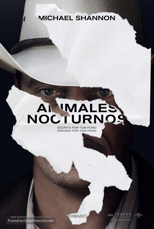 Nocturnal Animals - Argentinian Movie Poster