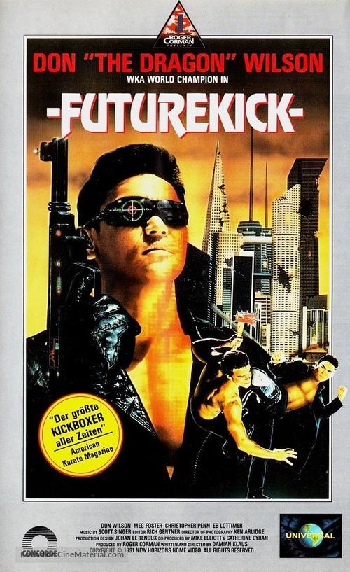 Future Kick - German VHS cover