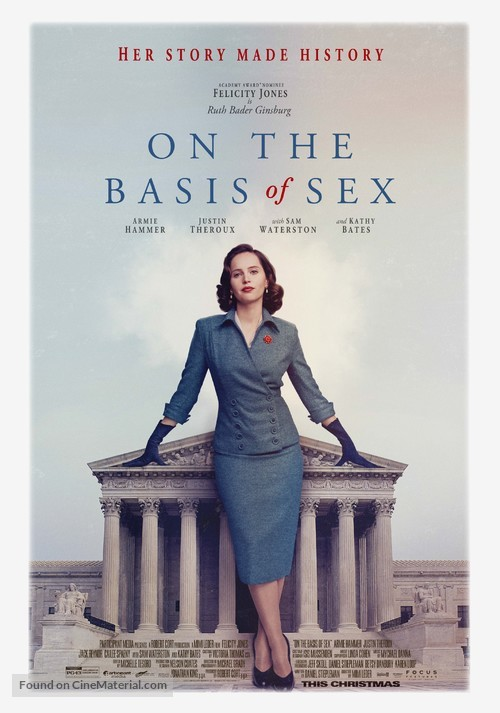 On the Basis of Sex - Movie Poster