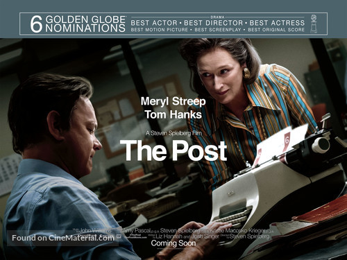 The Post - Movie Poster