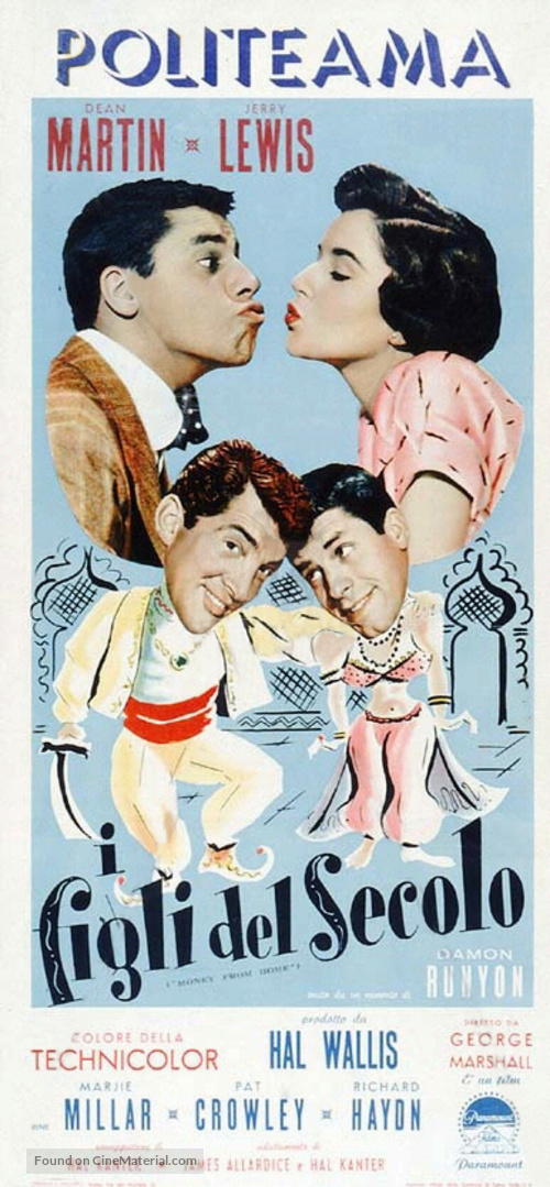 Money from Home - Italian Theatrical poster