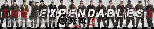 The Expendables 3 - Chinese Movie Poster