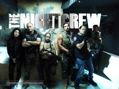 The Night Crew - Dutch Movie Poster