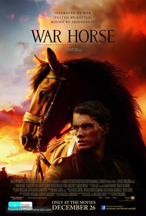 War Horse - Australian Movie Poster