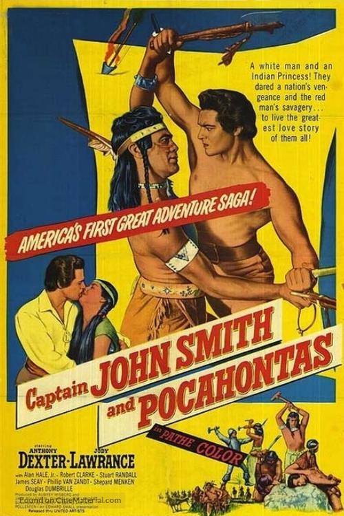 Captain John Smith and Pocahontas - Movie Poster