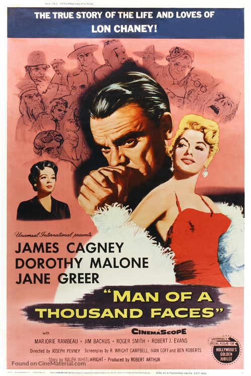 Man of a Thousand Faces - Movie Poster