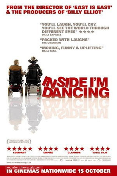 Inside I'm Dancing - British Movie Poster