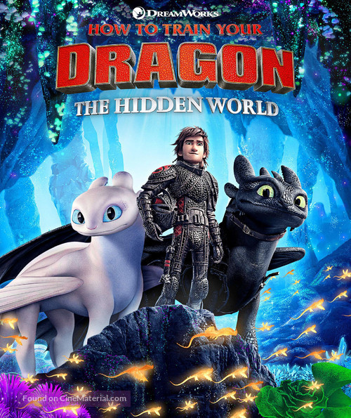 How to Train Your Dragon: The Hidden World - Movie Cover