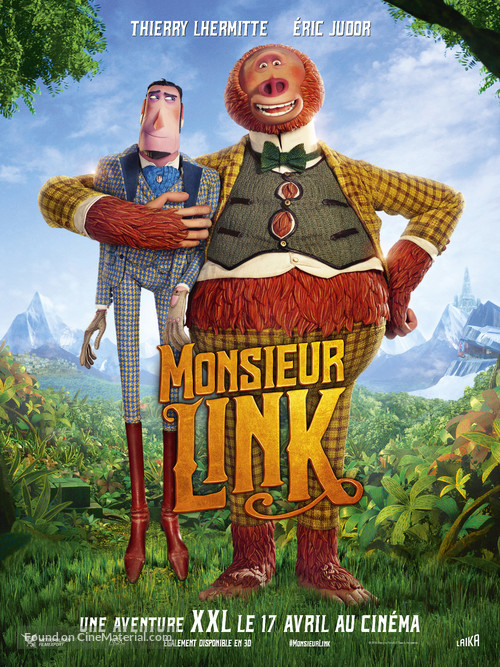 Missing Link - French Movie Poster