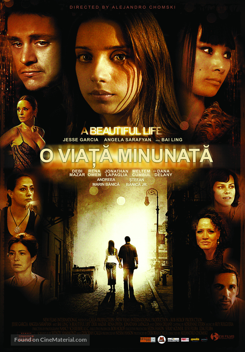 A Beautiful Life - Romanian Movie Poster