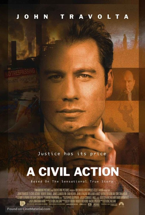 A Civil Action - Movie Poster
