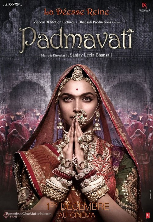 Padmavati - French Movie Poster