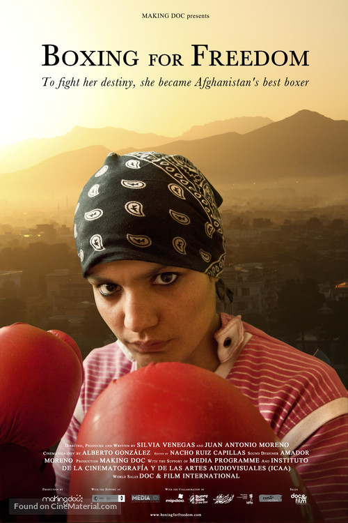 Boxing for Freedom Spanish movie poster