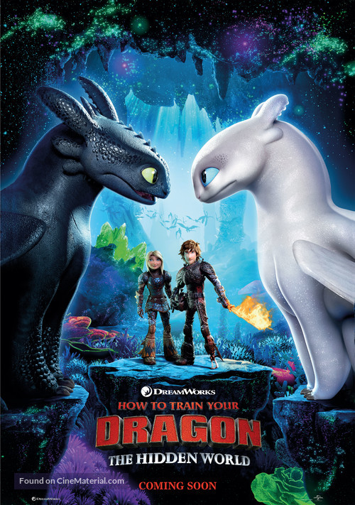 How to Train Your Dragon: The Hidden World - Movie Poster