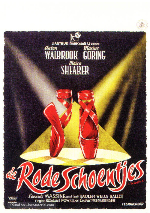 The Red Shoes - Dutch Movie Poster