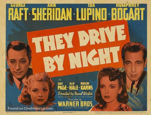 They Drive by Night - Movie Poster