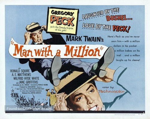 The Million Pound Note - Movie Poster