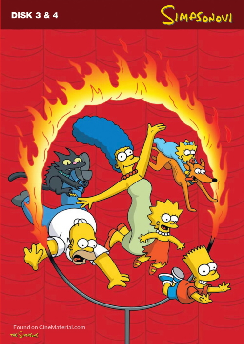 """The Simpsons"" - Czech DVD cover"