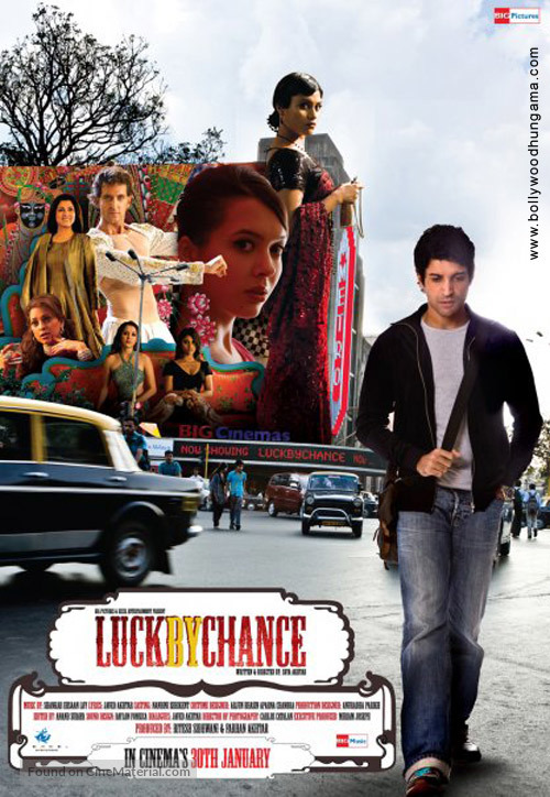 Image result for luck by chance poster