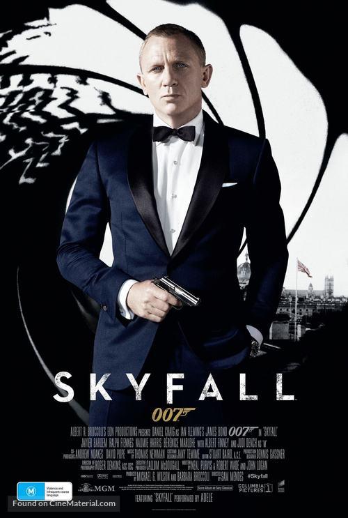 Skyfall - Australian Movie Poster
