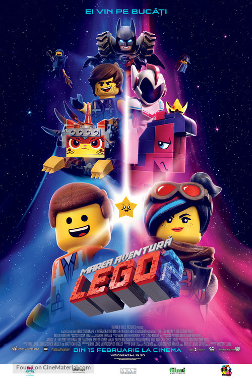 The Lego Movie 2: The Second Part - Romanian Movie Poster