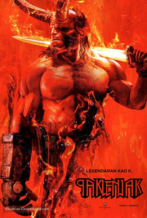 Hellboy - Serbian Movie Poster