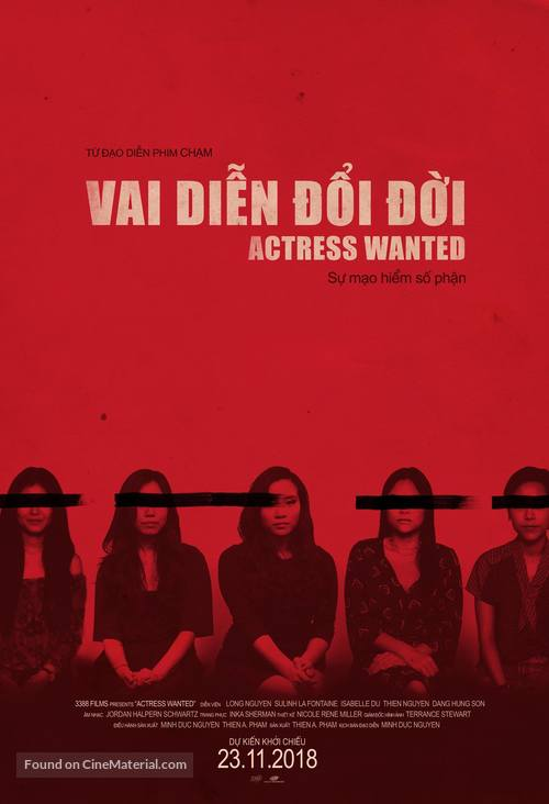 Actress Wanted - Vietnamese Movie Poster