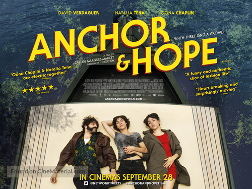 Anchor and Hope - British Movie Poster