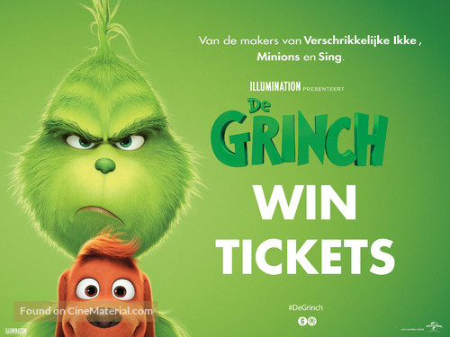 The Grinch - Dutch Movie Poster